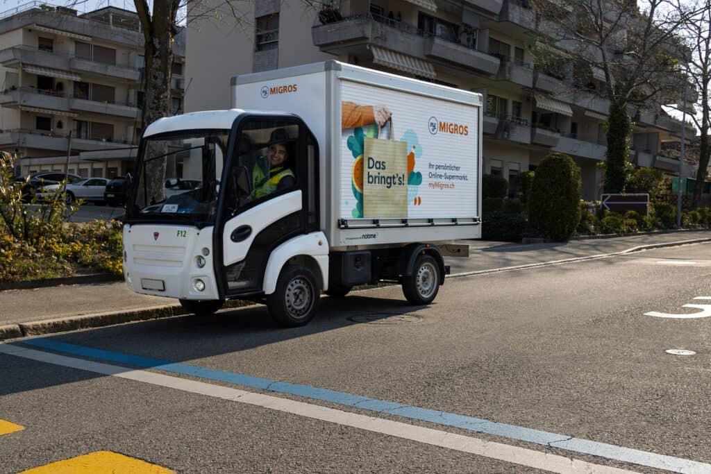 Addax Elektrofahrzeuge myMigros