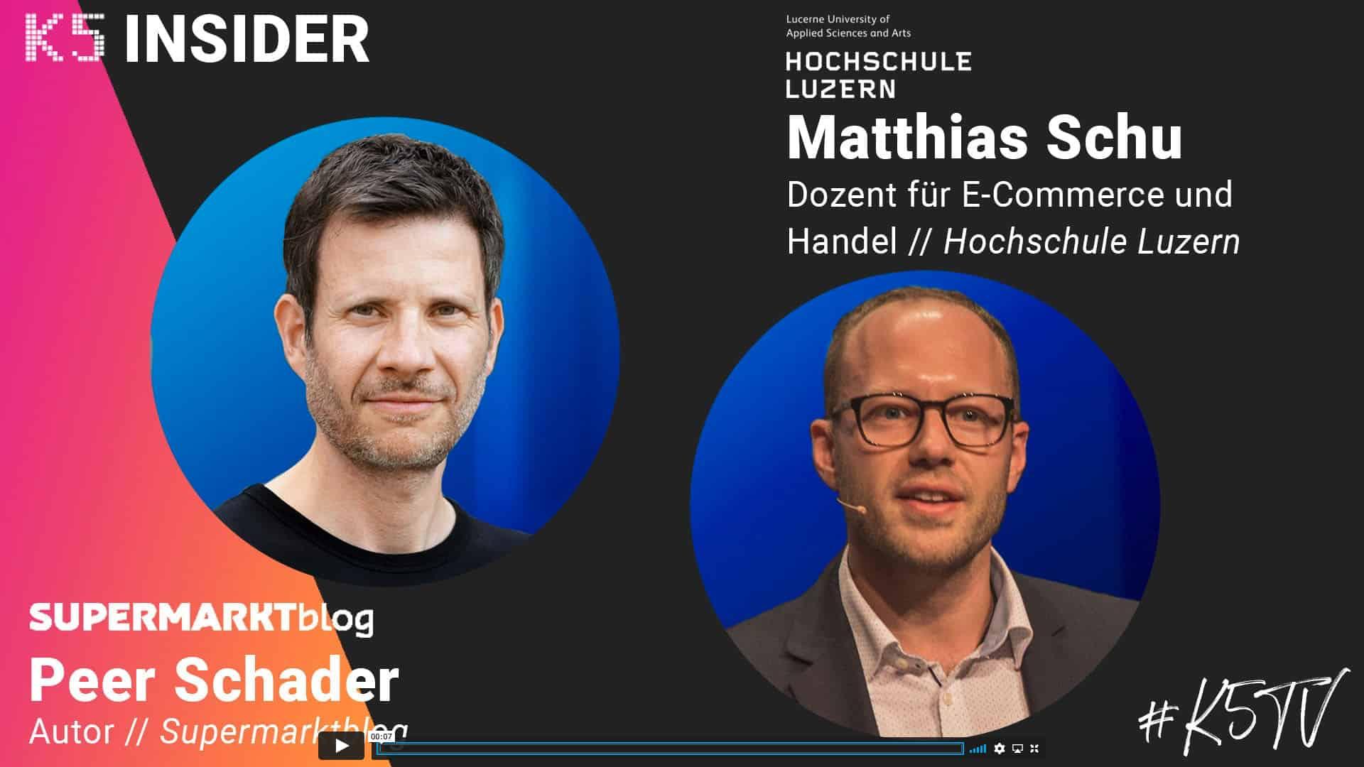 K5 Food Insider – E-Food Experte Dr. Matthias Schu steht Rede und Antwort