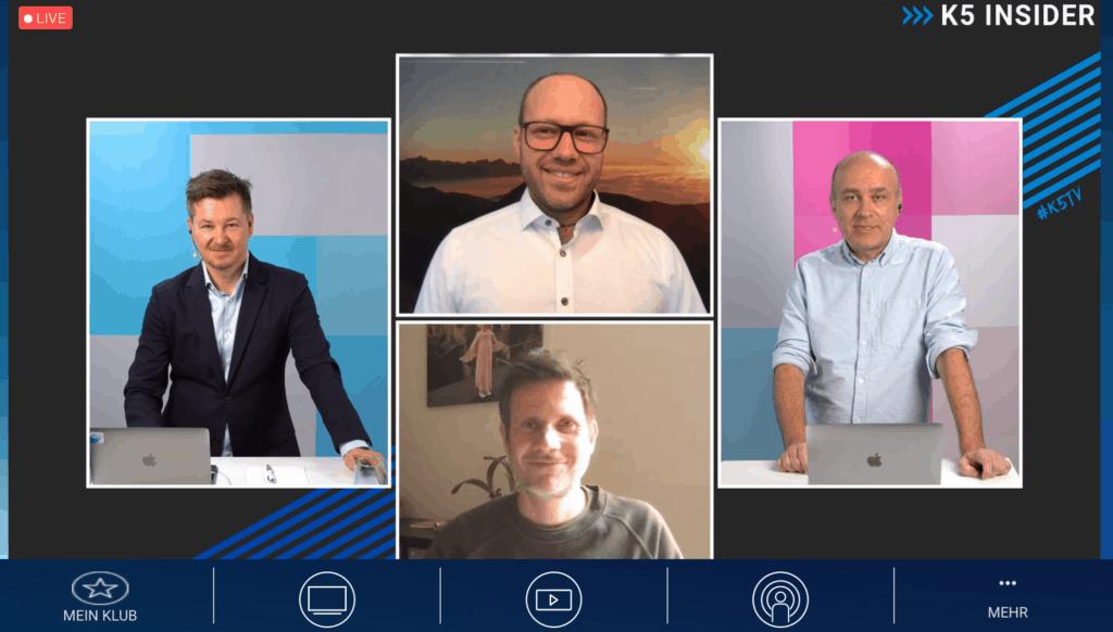 E-Food Experte Dr. Matthias Schu in Diskussion mit Jochen Krisch, Sven Rittau und Peer Schader vom Supermarktblog