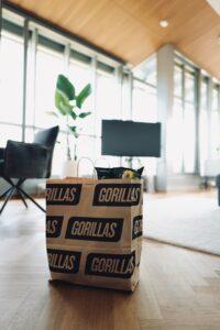 Quick Commerce E-Food Fulfillment Gorillas Delivery