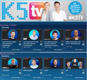 K5 TV, K5 Insider Food mit E-Food Experte Dr. Matthias Schu
